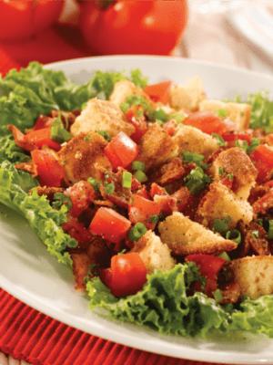 Image of a BLT Cornbread Salad