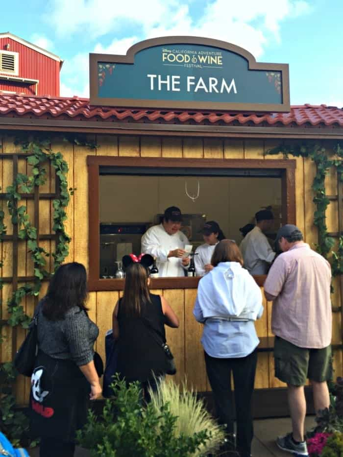 Disney California Adventure Food and Wine Festival 2016