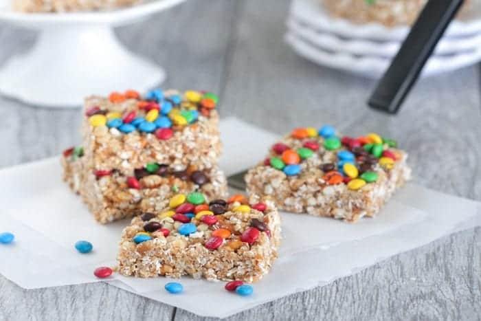 No Bake Snack Squares