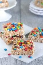 No Bake Snack Squares