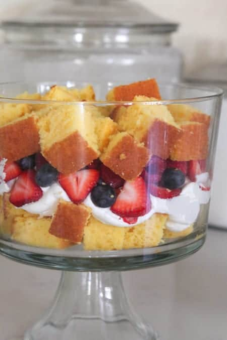 Very Berry Vanilla Cake Trifle