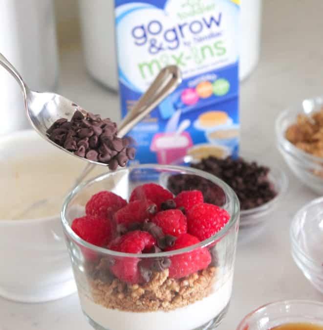 Chocolate Raspberry Yogurt Parfaits