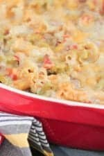 Picture of Queso Taco Pasta Bake