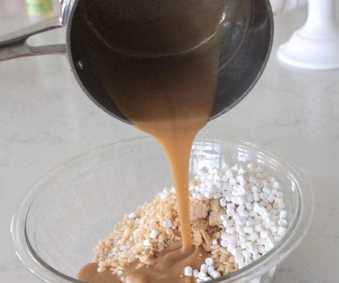 Homemade S'mores Granola Bars