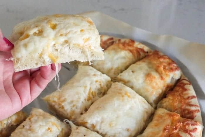 Homemade Cheesy Pizza Bread