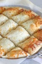 Homemade Cheesy Pizza Bread