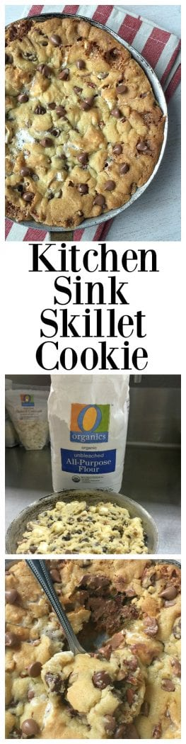 Kitchen Sink Skillet Cookie