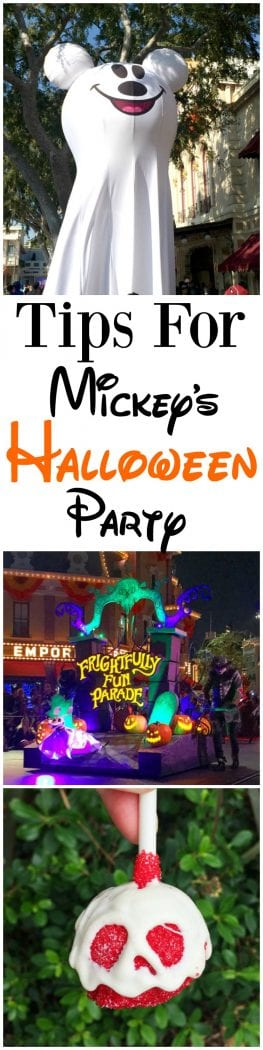 Tips For Mickey's Halloween Party Disneyland Ticket