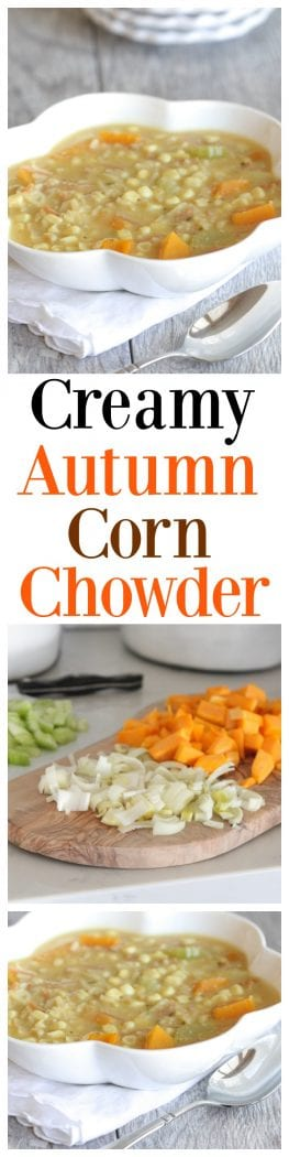Creamy Autumn Corn Chowder