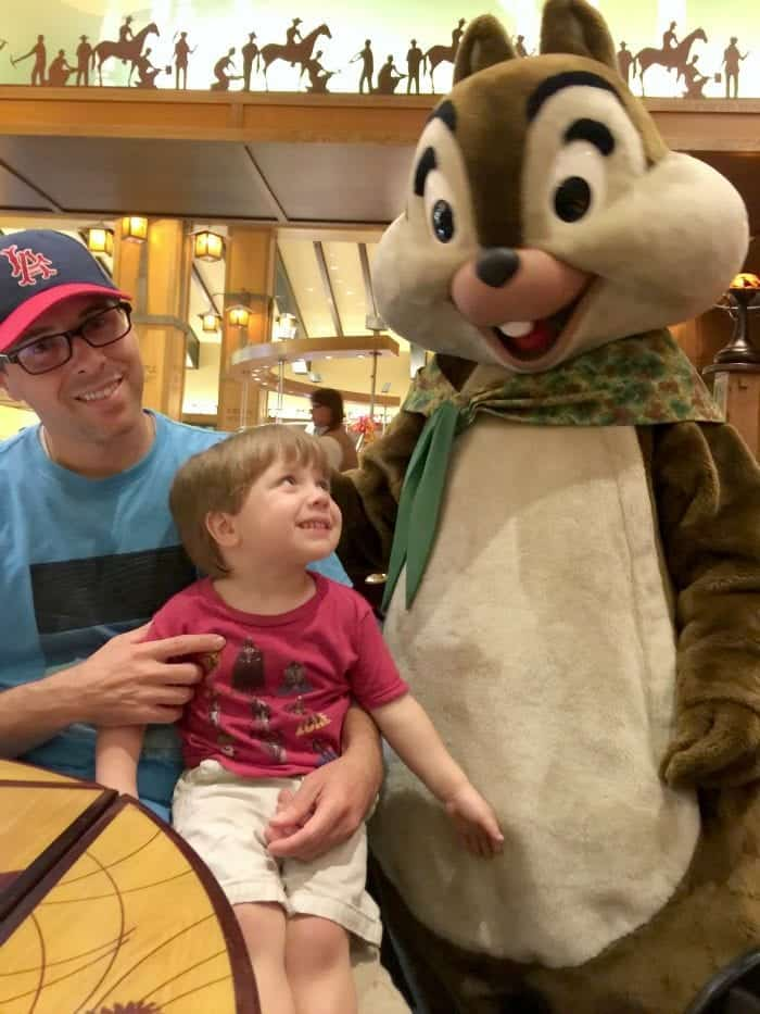 Storyteller's Cafe Chip n' Dale Critter Breakfast