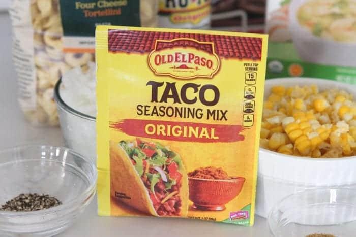 Taco Tortellini Soup