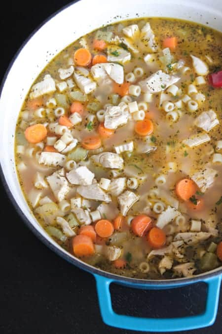 Weeknight Chicken Noodle Soup