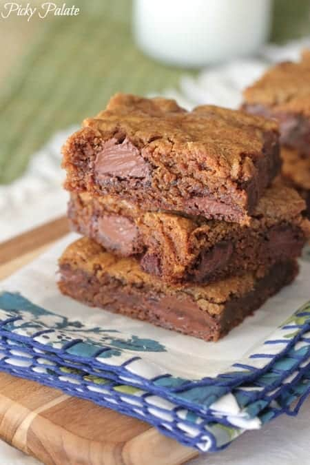 Gingersnap Chocolate Chip Cookie Bars