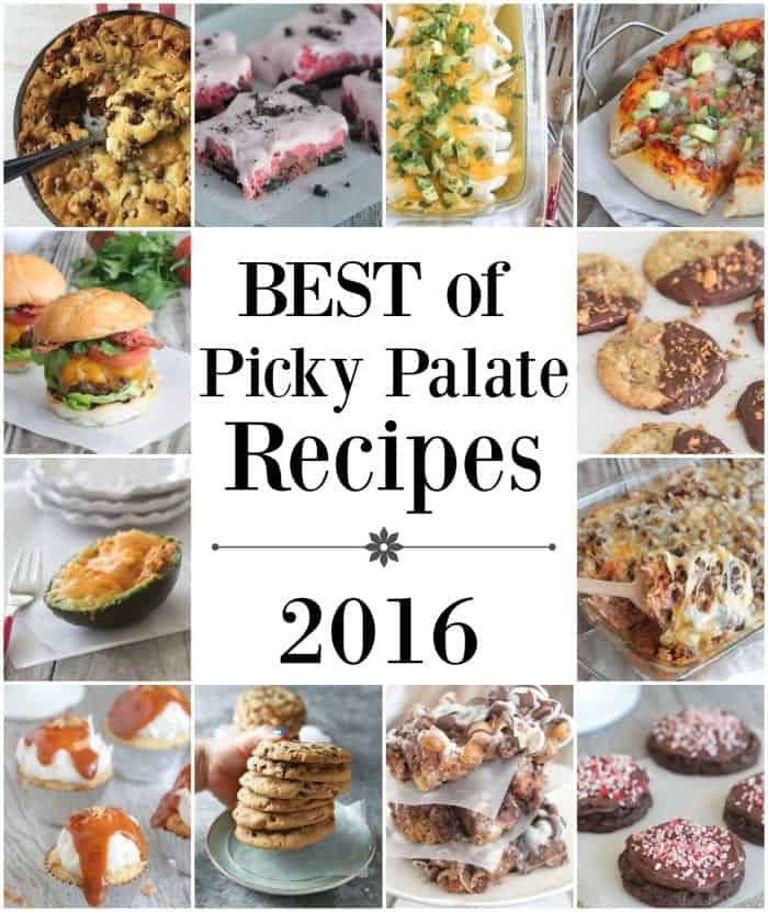 Best of Picky Palate Recipes 2016