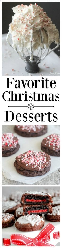 Favorite Christmas Desserts