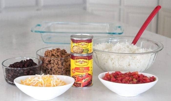 beef enchilada casserole