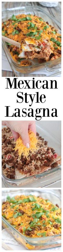 Mexican Style Lasagna