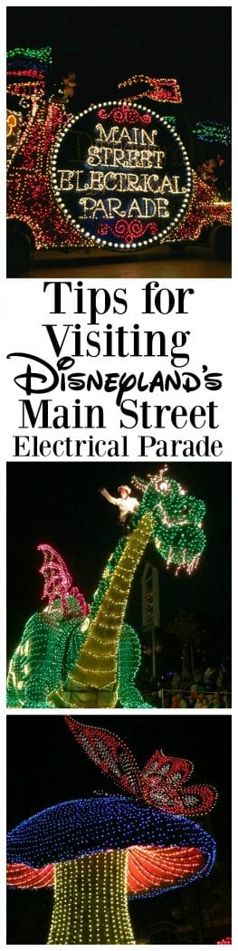 Tips for visiting Disneyland's Main Street Electrical Parade