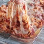 Cheese Stuffed Baked Spaghetti