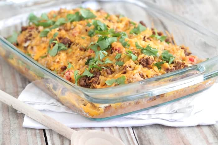 Mexican Style Lasagna - Picky Palate