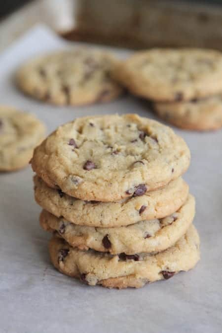 Perfect Chocolate Chip Pudding Cookies - Picky Palate