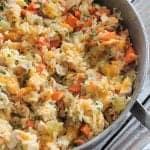 Weeknight Cheesy Chicken and Rice