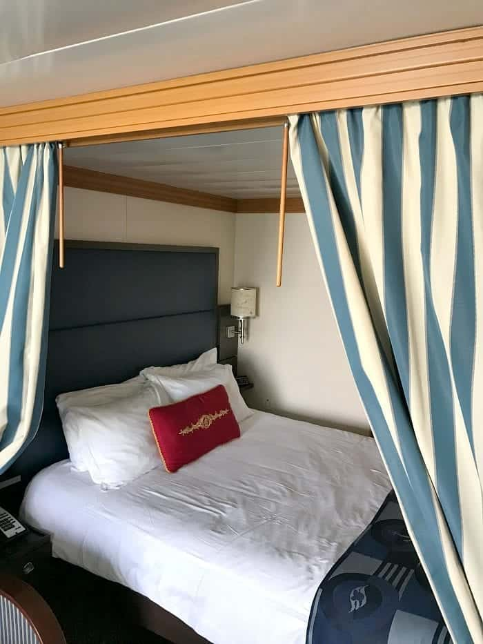 The Disney Wonder Stateroom With Verandah
