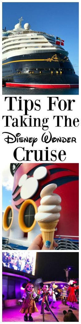 Tips For Taking The Disney Wonder Cruise
