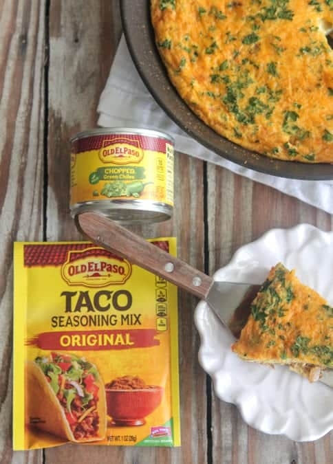 Mexican Breakfast Frittata