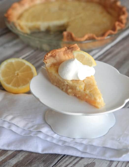Sweet N' Creamy Lemon Pie