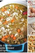 Family Favorite Weeknight Dinner Recipes