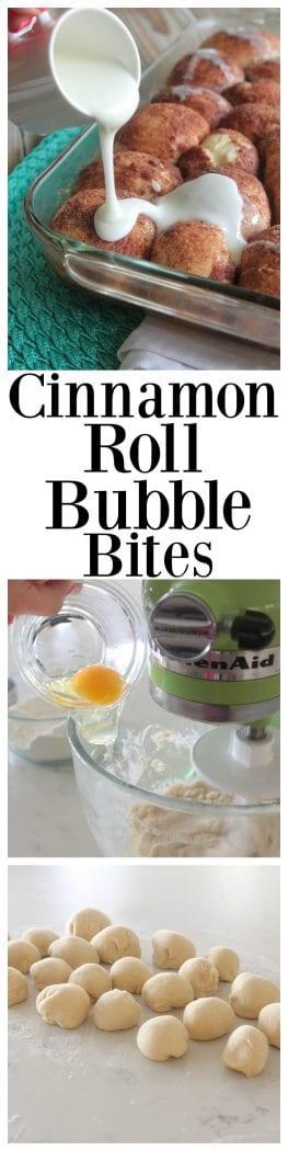 Cinnamon Roll Bubble Bites