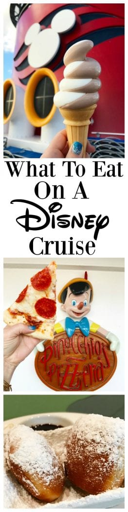 What To Eat On A Disney Cruise