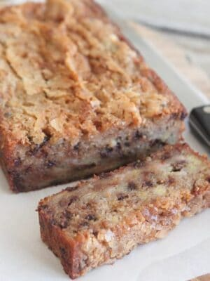 Perfect Chocolate Chip Banana Bread