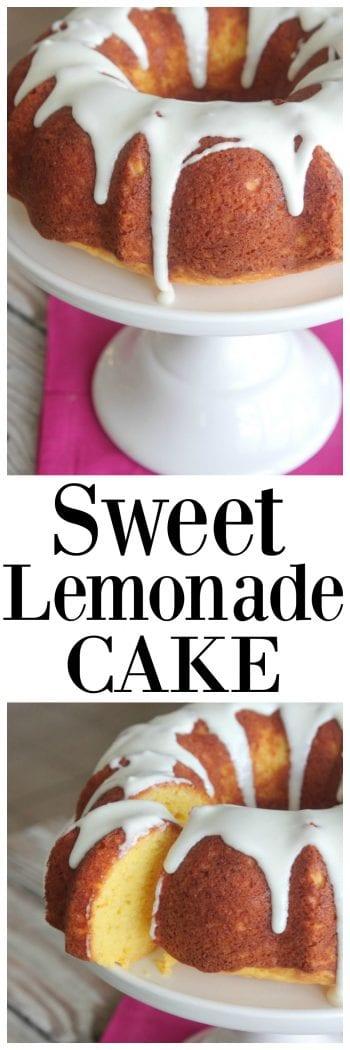 Sweet Lemonade Cake