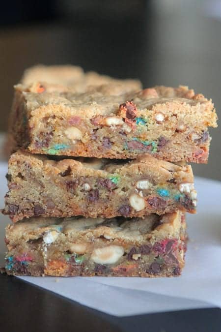 kitchen sink cookie bars - picky palate