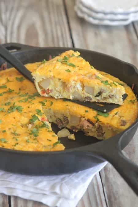 The Ultimate Breakfast Frittata