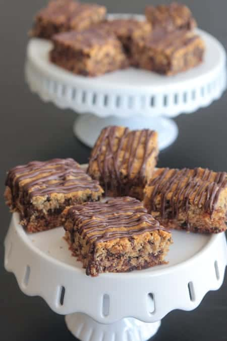Peanut Butter Banana Chocolate Chip Bars