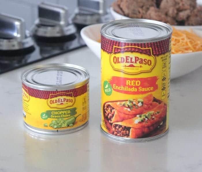 Green Chilie Beef Enchilada Rigatoni