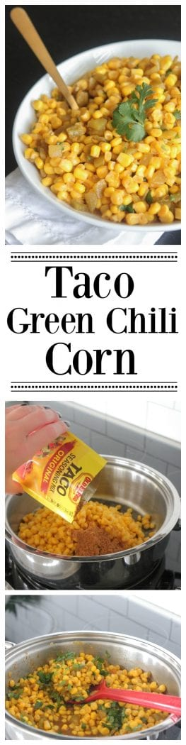 Taco Green Chili Corn