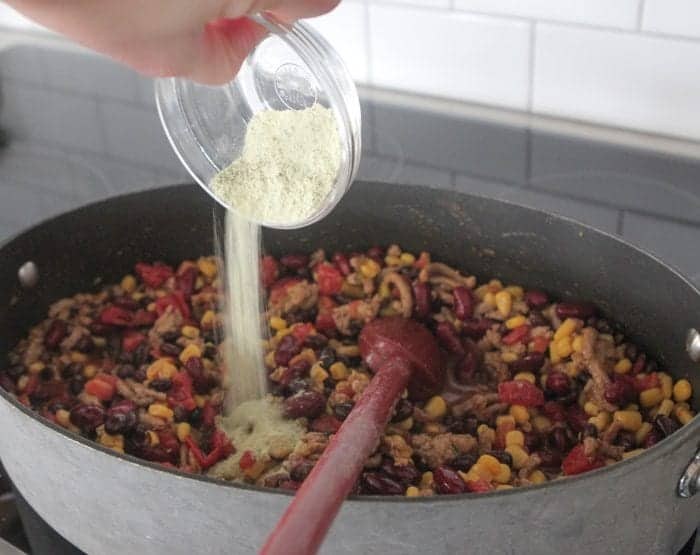 Turkey Taco Soup Mac