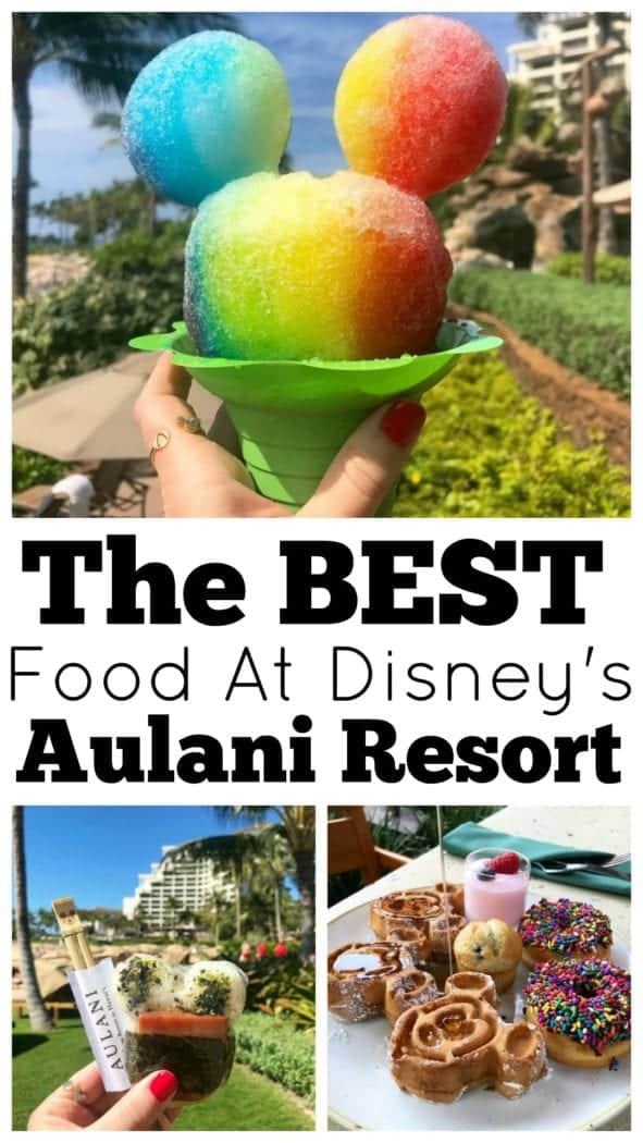 The Best Food at Disney's Aulani Resort