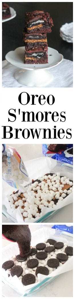 Oreo S'mores Brownies Pin