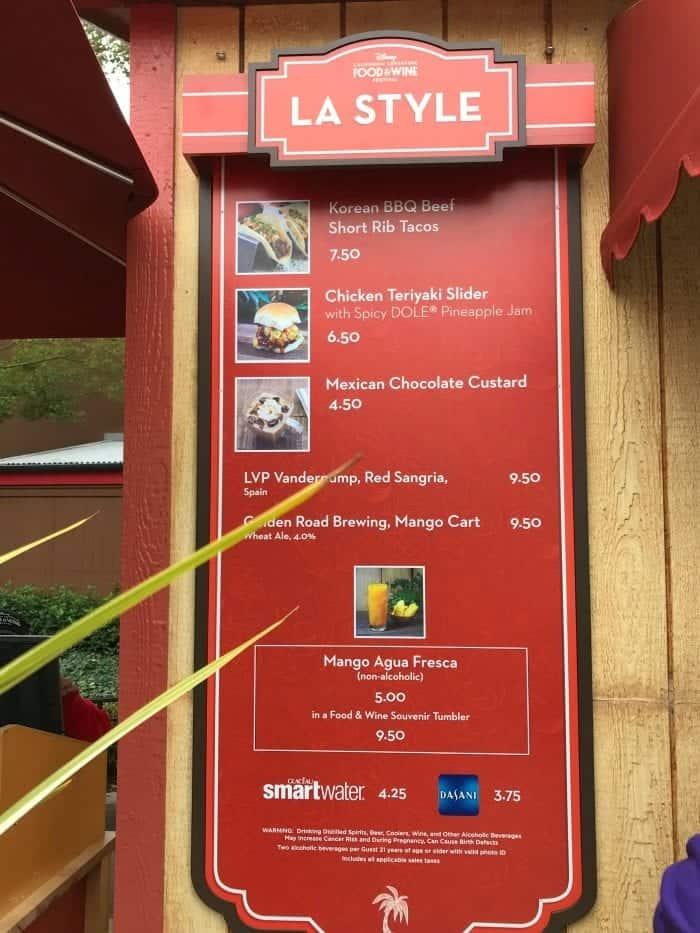 Disney California Adventure Food and Wine Festival 2018 5