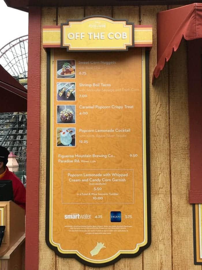 Disney California Adventure Food and Wine Festival 2018 36