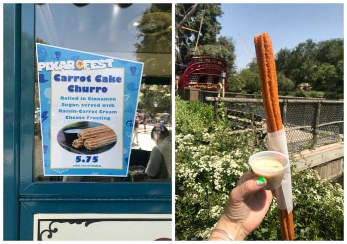 The New Churros at Pixar Fest