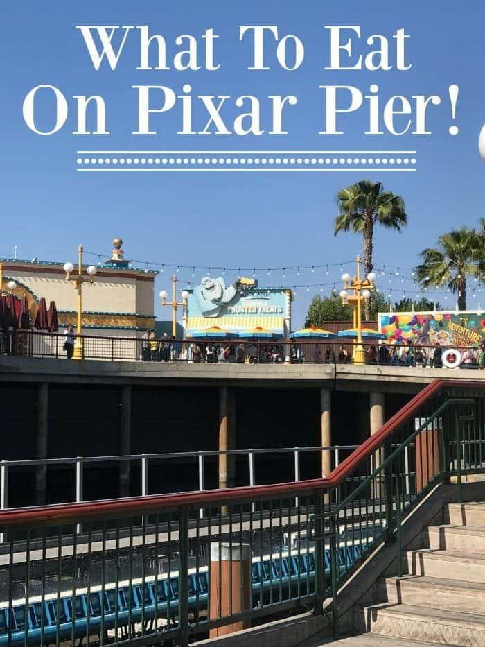 What To Eat on Pixar Pier