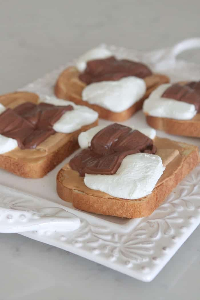 Peanut Butter S'mores Toast