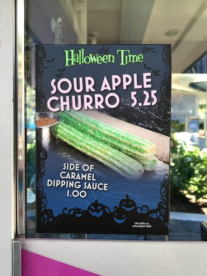 Disneyland Halloween Time Food Guide 2018