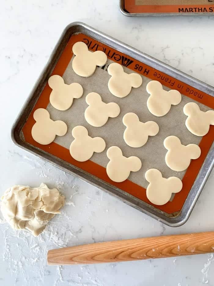 Mickey Mouse Sugar Cookie Recipe Homemade Disney Dessert